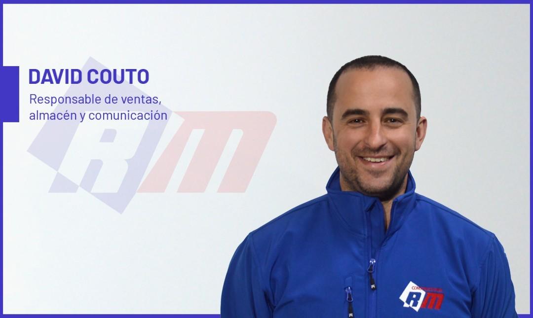 Entrevista a David Couto, responsable de compras, almacén y comunicación en Construcciones RM
